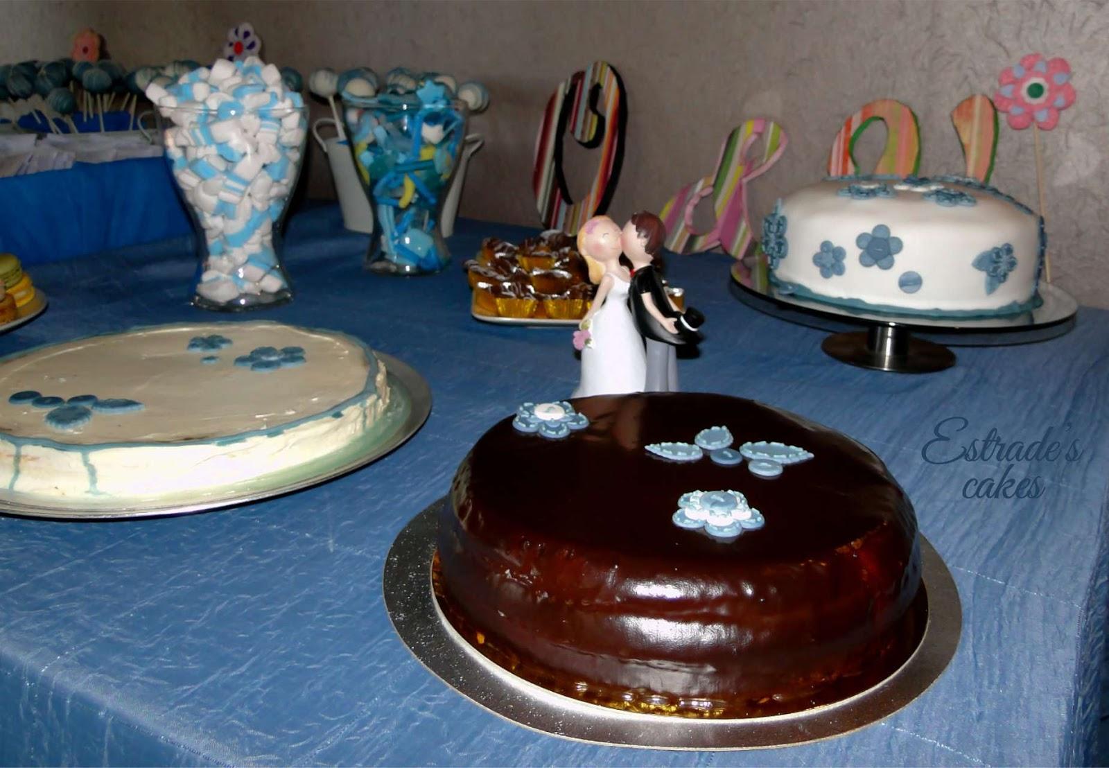 mesa dulce de boda - tartas