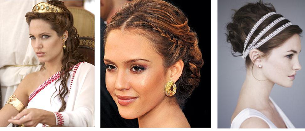 Найти Платья В Греческом Стиле С Причёсками
