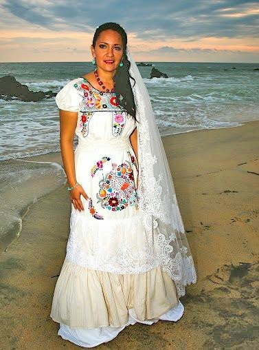 1000 ideas about wedding on pinterest mexican themed for Mexican style wedding dress