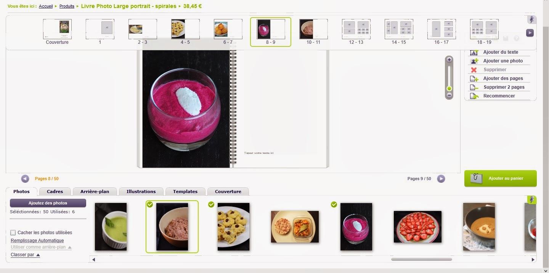 Cr er son livre de recettes avec smartphoto concours - Creer son livre de cuisine ...