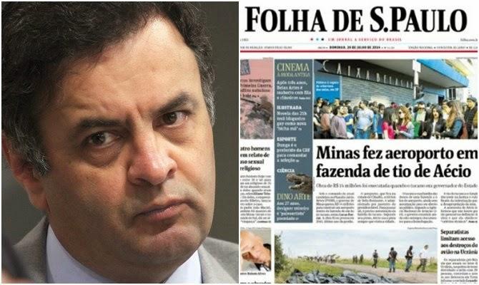 Janot manda MPF investigar Aécio por improbidade no aeroporto de Cláudio