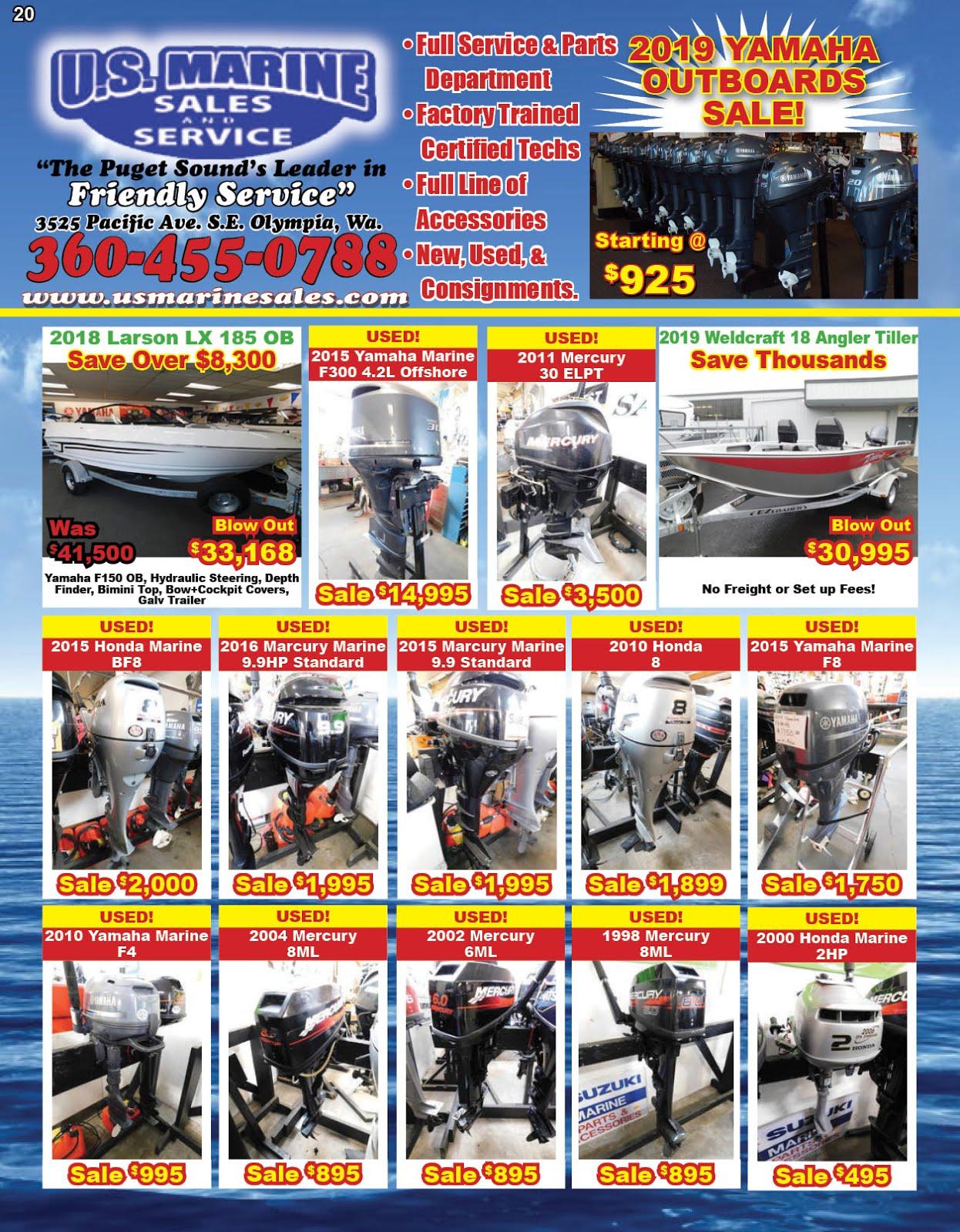 US Marine Sales Yamaha Marine & Waverunner Sale!!