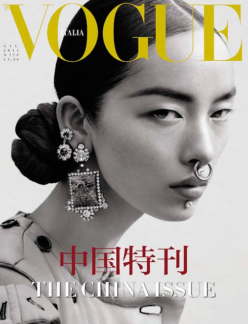 Fashion Model @ Fei Fei Sun by Mert Alas & Marcus Piggott for Vogue Italia, June 2015