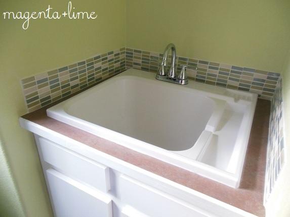 Charming Utility Sink Backsplash Awesome Utility Sink Backsplash Home Design Ideas  Inspiration Design Images