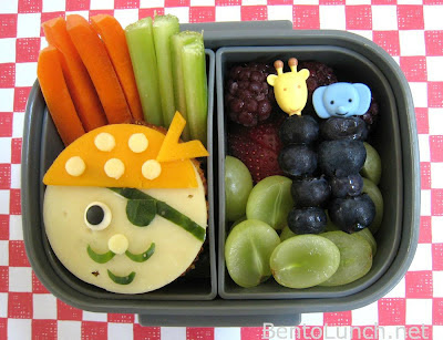 BentoLunch.net - Pirate themed bento box