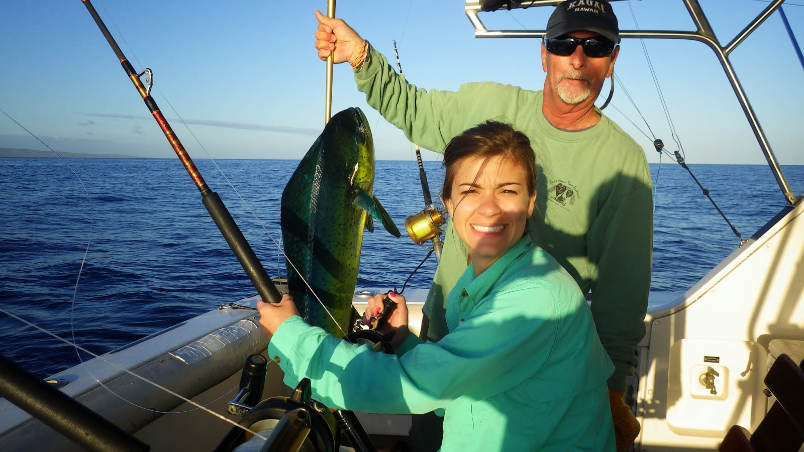Sport Fishing off Hawaii for Dorado