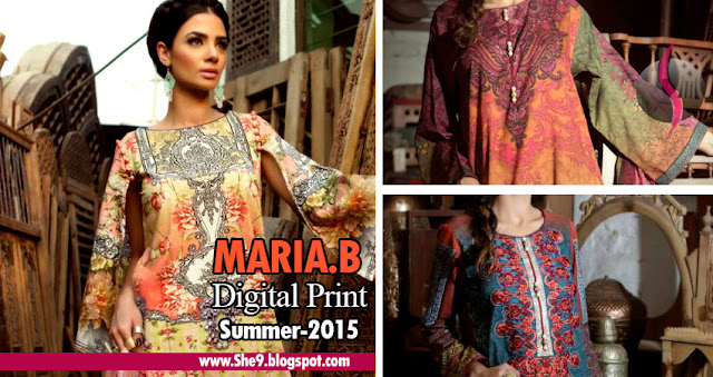 Maria B Eid Lawn Collection