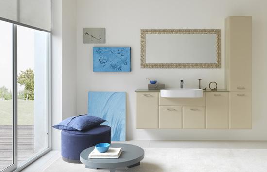 Dise os de ba os y accesorios en colores negro y azul for Accesorios bano color blanco