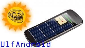 Solar Charger Aplikasi Untuk Mengisi Baterai Android Dengan Sinar Matahari