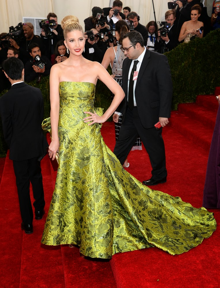 Ivanka Trump, Met Gala 2014 Red Carpet,