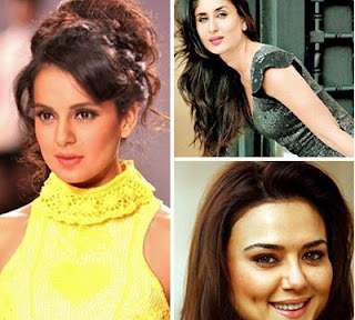 List Of Bollywood Actress's And Their Obessions
