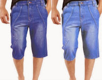 Buy Uber urban Blue Denim Short at Flat 61% Off + Extra 45% Cash Back Rs. 384 only at Paytm.