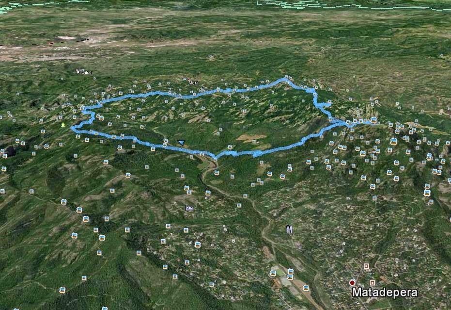 Recorregut-La Barata-Turó de les Tres Creus-Montcau-La Mola de Sant Llorenç del Munt
