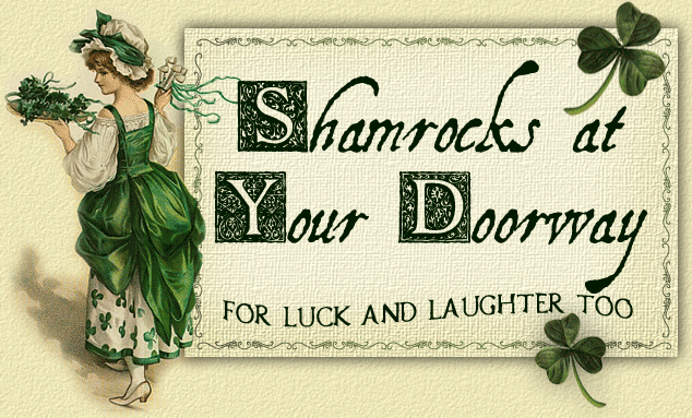 Shamrocks at Your Doorway