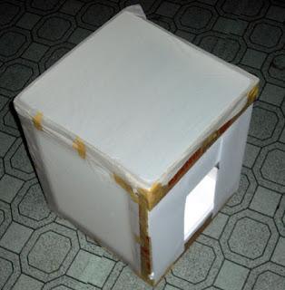 Mini Light Tent Tutorial