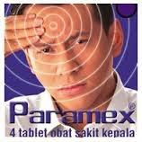 PARAMEX, EFEK SAMPING & DOSIS