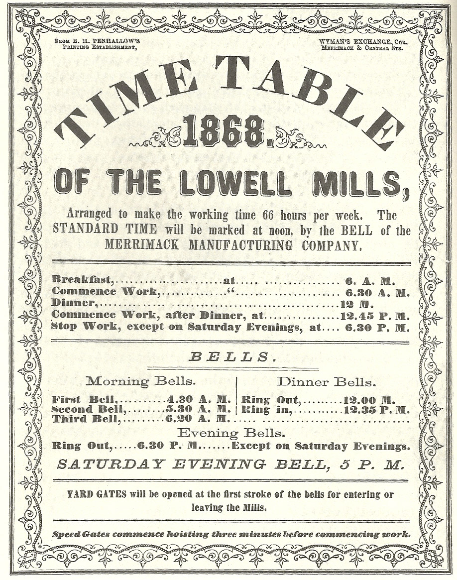 lowell experiment