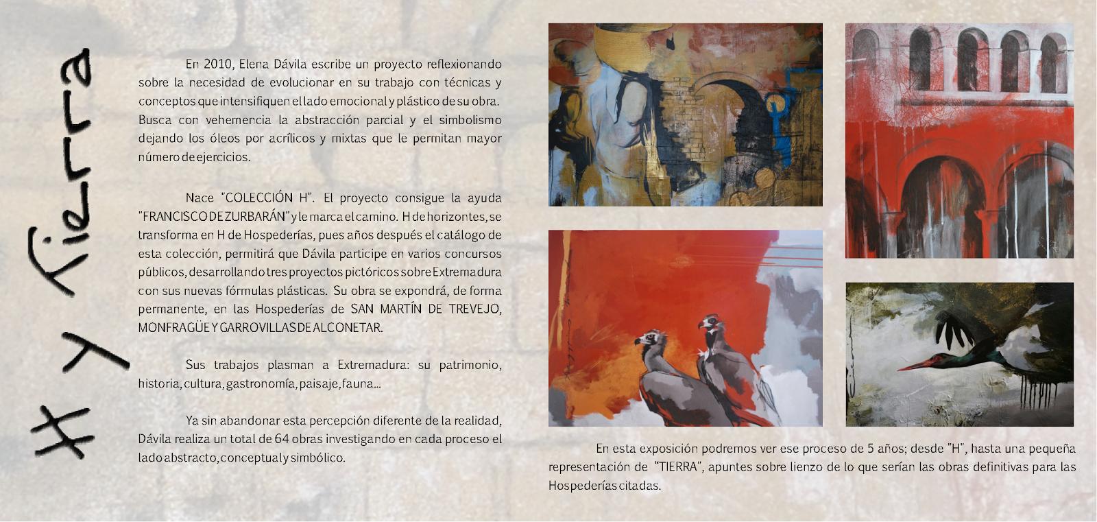 Exposición de Elena García Dávila