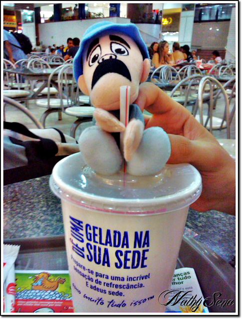 Seu madruga no McDonald's
