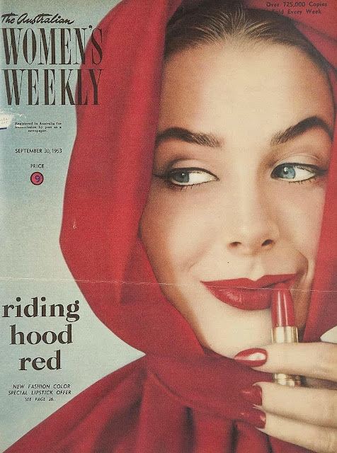 1950s cover Australian womens weekly with Red Riding Hood