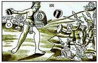 Ancient Giants Documented In Aztec Records