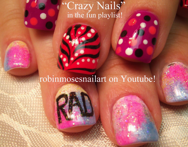 Nail Art Design: color me rad nail art, color me rad nails, 5k run ...