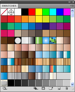 Adobe Illustrator swatch library