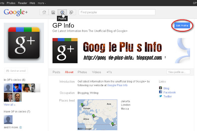 The Basic Guidelines How to Use Google+: Profiles