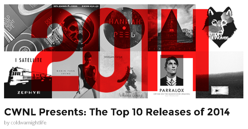 Parralox in the CWNL Top 10 Releases of 2014