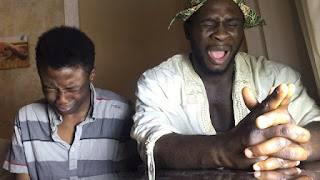Funny Video: Another hilarious one from papa Ade and son praying [Video]