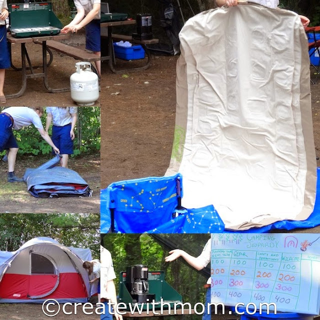 learn to camp