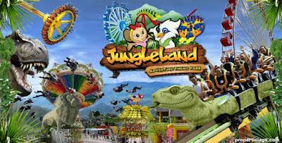 Jungle Land tawarkan hiburan tematik