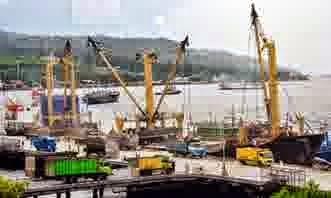 Ekspor dari Pelabuhan Tanjung Wangi Banyuwangi