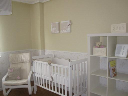 Hogar diez gemelos compartiendo espacio for Habitaciones para bebes ikea