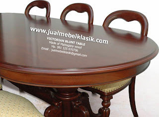 Supplier Classic Indonesia Furniture Supplier Victorian Bult Dining Table Supplier mahogany solid dining table supplier jepara dining table