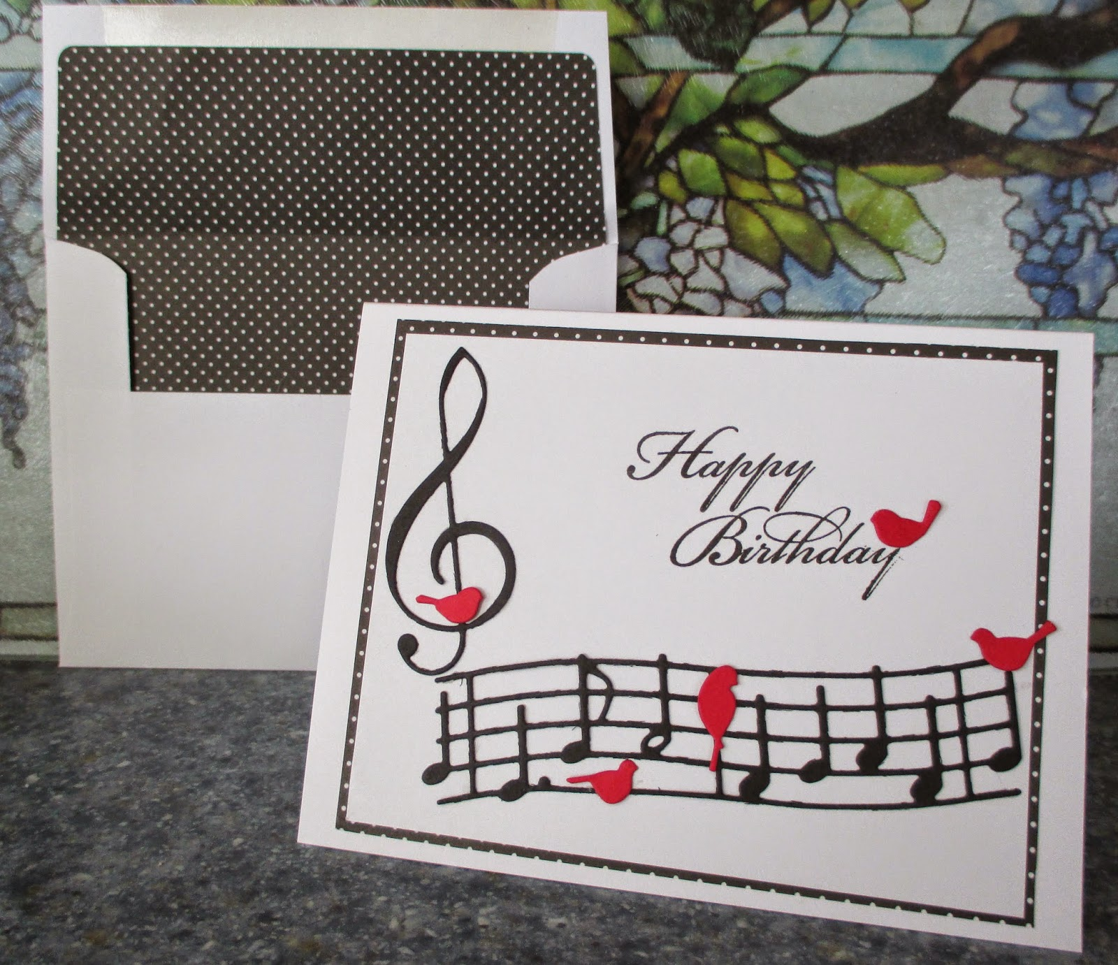 Birthday Card For Darrell Again And I Wanted To Continue With The Music Theme Him Below