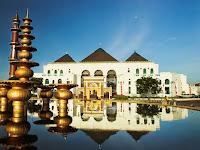 Mesjid Agung Palembang Perpaduan Budaya Melayu, Cina Dan Eropa