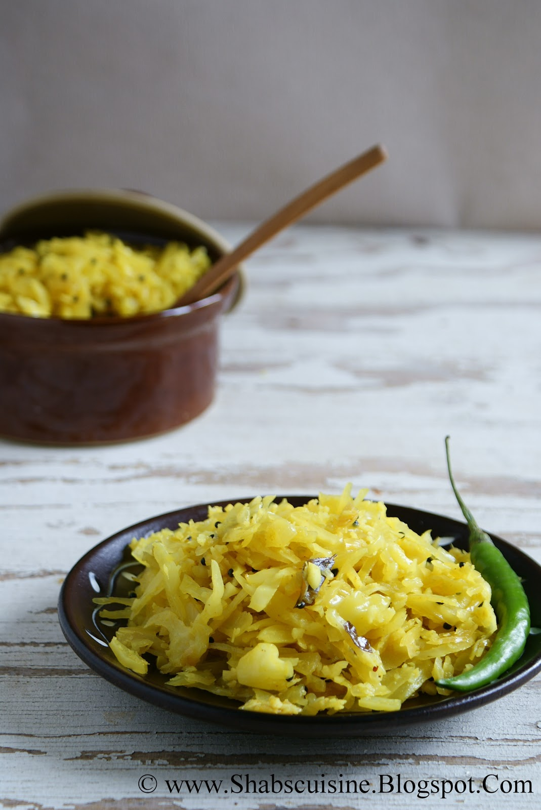 ... : Cabbage Thoran / Cabbage Varavu/ Kerala Style Cabbage Stir-fry