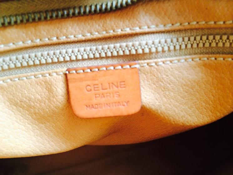 Truly Vintage: Authentic Vintage Celine Macadam Clutch Bag