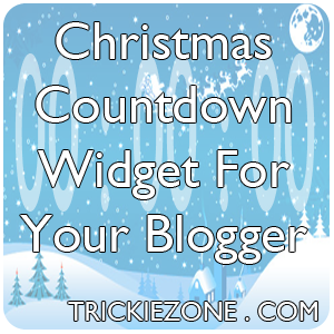 Christmas Countdown Widget For Your Blogger
