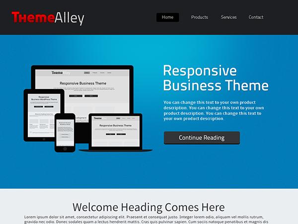Alexandria Free WordPress theme 2014