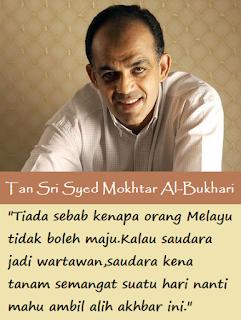 Secebis Kata-kata Berharga Syed Mokhtar Al-Bukhary