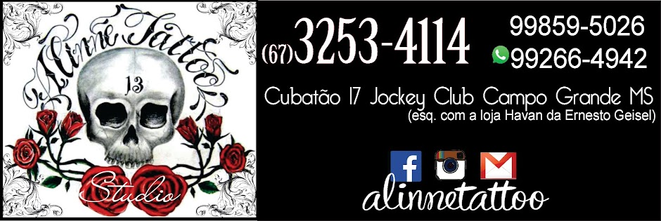 Aline Tattoo - Tatuagem Campo Grande MS
