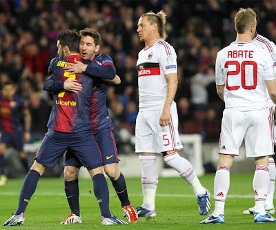 Champions League FC Barcelona - AC Milan 2013