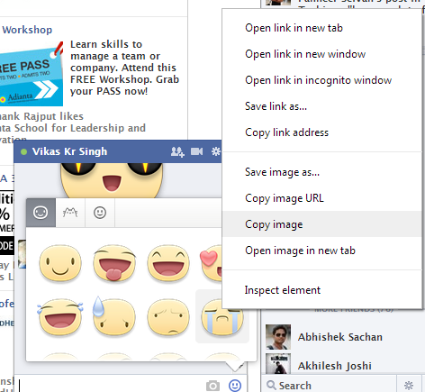 How to Use Stickers in Facebook Comments