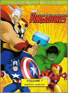 Filme Poster Os Vingadores Vol.1 - Heris Unidos DVDRip XviD &amp; RMVB Dublado