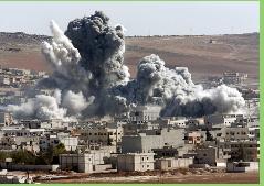 Bombardeos de la coalición en Siria mataron a más de 500 yihadistas en su primer mes
