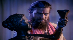 Rajesh Vivek as Baba in Veerana
