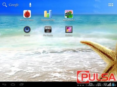 Beruntung Advan memasukan layar kapasitif touchscreen berteknologi ...