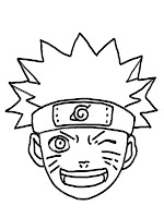 Naruto Shippuden Coloring Faces